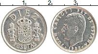 Изображение Монеты Испания 10 песет 1983 Медно-никель UNC- Хуан Карлос I