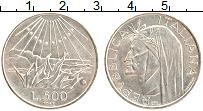 Изображение Монеты Италия 500 лир 1965 Серебро XF