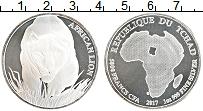 Продать Монеты Чад 5000 франков 2017 Серебро