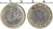 Продать Монеты Монако 1 евро 2007 Биметалл