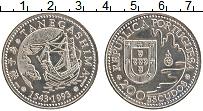 Изображение Монеты Португалия 200 эскудо 1993 Медно-никель UNC- 450 лет открытия япо