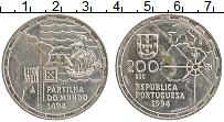 Изображение Монеты Португалия 200 эскудо 1994 Медно-никель UNC-