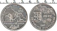 Изображение Монеты Португалия 200 эскудо 1997 Медно-никель UNC-