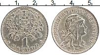 Изображение Монеты Португалия 1 эскудо 1968 Медно-никель XF