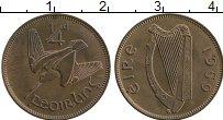 Изображение Монеты Ирландия 1/4 пенни 1959 Бронза UNC