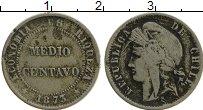 Изображение Монеты Чили 1/2 сентаво 1873 Медно-никель VF+
