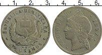Изображение Монеты Доминиканская республика 1/2 песо 1897 Серебро XF-