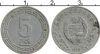 Изображение Монеты Северная Корея 5 чон 1959 Алюминий UNC-