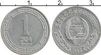 Изображение Монеты Северная Корея 1 чон 1959 Алюминий UNC-
