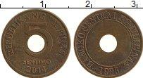 Изображение Монеты Филиппины 5 сентим 2014 Бронза XF