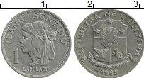 Изображение Монеты Филиппины 1 сентим 1969 Алюминий UNC- Лапулапу