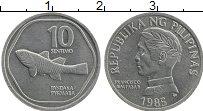 Изображение Монеты Филиппины 10 сентим 1985 Алюминий XF