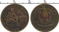 Изображение Монеты Филиппины 1 сентаво 1960 Бронза XF