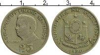Изображение Монеты Филиппины 25 сентим 1970 Медно-никель XF