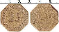 Изображение Монеты Мальта 25 центов 1975 Латунь XF