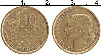 Изображение Монеты Франция 10 франков 1952 Латунь XF