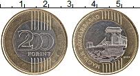 Изображение Монеты Венгрия 200 форинтов 2009 Биметалл UNC-