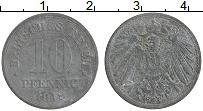 Изображение Монеты Германия 10 пфеннигов 1918 Цинк XF