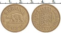 Изображение Монеты Гренландия 1 крона 1926 Латунь XF