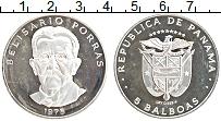 Изображение Монеты Панама 5 бальбоа 1975 Серебро Proof-