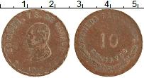 Изображение Монеты Мексика 10 сентаво 1915 Медь XF