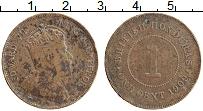 Изображение Монеты Белиз 1 цент 1909 Бронза XF-