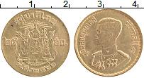 Изображение Монеты Таиланд 25 сатанг 1957 Латунь UNC-