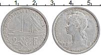 Изображение Монеты Сен-Пьер и Микелон 2 франка 1948 Алюминий XF-