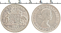 Изображение Монеты Австралия 1 флорин 1958 Серебро XF