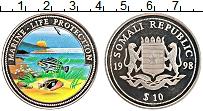 Изображение Монеты Сомали 10 долларов 1998 Медно-никель UNC