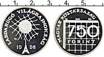 Изображение Монеты Венгрия 750 форинтов 1997 Серебро Proof-