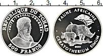 Продать Монеты Чад 500 франков 2001