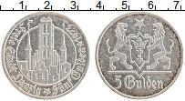 Продать Монеты Данциг 5 гульденов 1923 Серебро