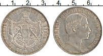 Продать Монеты Баден 1 талер 1862 Серебро