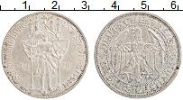 Изображение Монеты Веймарская республика 3 марки 1929 Серебро UNC- 1000-летие Мейссена