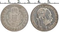 Изображение Монеты Венгрия 1 форинт 1884 Серебро XF