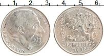 Изображение Монеты Чехословакия 50 крон 1975 Серебро UNC- 100 лет со дня рожде