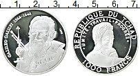 Продать Монеты Чад 1000 франков 1999 Серебро
