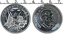 Изображение Монеты Канада 1 доллар 2011 Серебро UNC Елизавета II. 100 ле