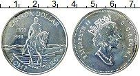 Изображение Монеты Канада 1 доллар 1998 Серебро UNC Елизавета II. 125 ле