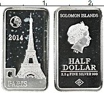 Изображение Монеты Соломоновы острова 1/2 доллара 2014 Серебро Proof