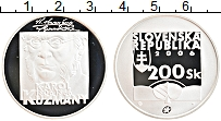 Продать Монеты Словакия 200 крон 2006 Серебро