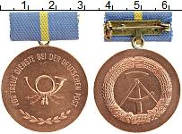 Изображение Монеты ГДР Медаль 0 Бронза UNC За отличие в почтово