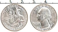 Изображение Монеты США 1/4 доллара 1976 Серебро UNC-