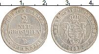 Изображение Монеты Саксония 2 гроша 1866 Серебро XF