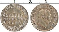 Изображение Монеты Пруссия 1 грош 1870 Серебро XF+ А. Вильгельм I