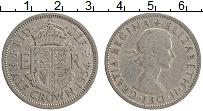 Изображение Монеты Великобритания 1/2 кроны 1954 Медно-никель XF