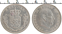 Изображение Монеты Дания 5 крон 1972 Медно-никель XF