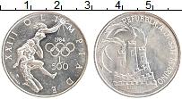 Изображение Монеты Сан-Марино 500 лир 1984 Серебро UNC-