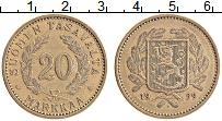 Изображение Монеты Финляндия 20 марок 1939 Латунь XF
